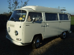 Hire Margo the VW Campervan